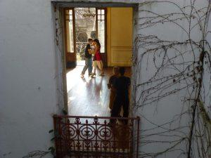 Tango dance class