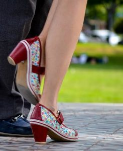 Fun tango shoes in Buenos Aires