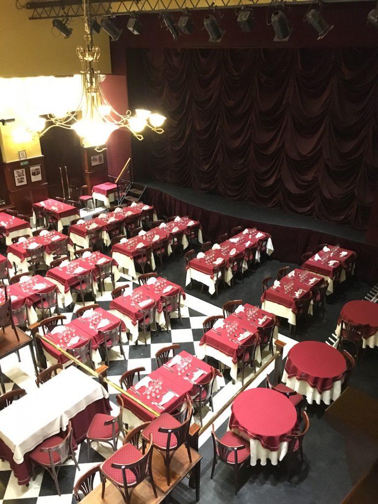 Esquina Homero Manzi stage tango dinner show