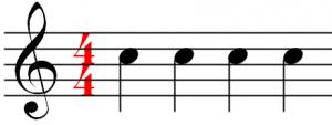 The tango rhythm